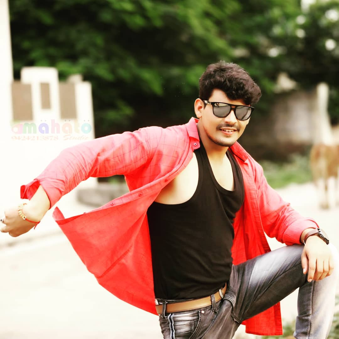 Dashing Handsome Cg Actor Dilesh Sahu