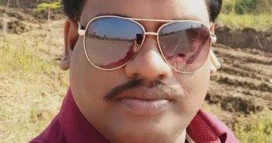 Chhattisgarhi film actor Mahavir Chauhan performing public service in lockdown